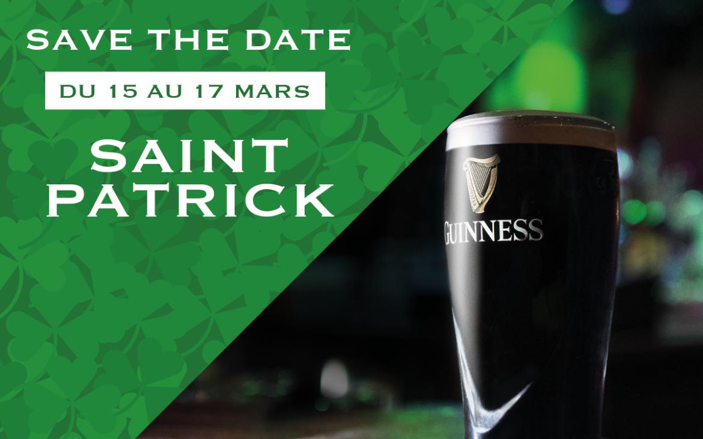 Samedi 16 mars : Saint-Patrick